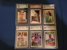 1992 Bowman 532 Manny Ramirez PSA 10 Plus 5 Other Rookie Cards
