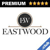 Eastwood Brandable Domain Names Sale (.NET .COM .CLUB Premium Domains Name 3, 4)