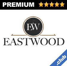 Eastwood Brandable Domains Premium CLUB Names 1-Word Domain Name + Logo For Sale