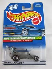 Hot Wheels 1999 Treasure T-Hunt, 10/12 Hot Seat Mint In Long Card
