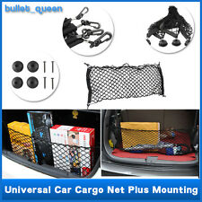 Universal Car Trunk Cargo Storage Organizer Net Bag Mesh Luggage Holder 100x40cm