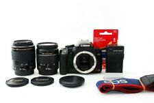 Canon EOS Rebel XSi/450D/Kiss X2 12.2MP 28-80/80-200mm Lens [Exc+++] w/8GB [jkh]
