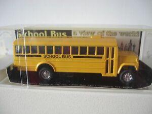 1996 Harvey Hutter & Co New York School Bus Boxed, Die Cast , Excellent