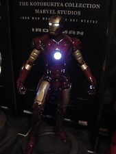 KOTOBUKIYA IRON MAN MARK 3 III AVENGERS STATUE lights Fine Art figure bowenartfx