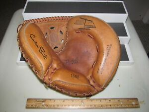 Vintage 1960'S SEARS ROEBUCK CATCHERS GLOVE MITT 1686 RIGHT HANDED THROW RIGHT