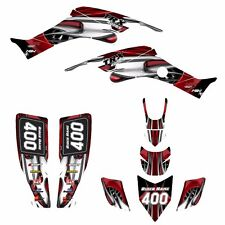 TRX 400 EX Graphics kit for Honda 1999 - 2007 400EX custom deco #4444Red Tribal