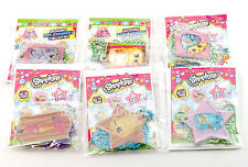 NEW Shopkins Collectible Fashion Tag Necklaces - SET OF 6