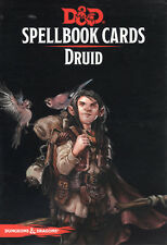 Dungeons & Dragons 5th Edition RPG: Druid Spellbook card Deck
