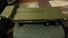 2001 GIJOE GI JOE G. I. JOE GREEN ARMY TRUCK REPLACEMENT FLATBED TRAILER ONLY