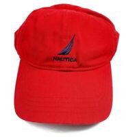 NS-83 Nautica Sailing Classics Red Strapback Hat Cap 100% Cotton Dad Hat