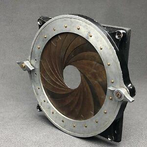 Universal 98mm Iris lens mount for vintage brass lenses. Dallmeyer, Voigtlander