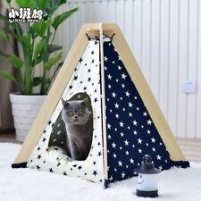 Haus und Zelt mit Spitze für Hunde Katze & andere Haustier,incl. Matraze Stern