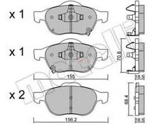 Freni ant Toyota Avensis 1.6, 2.0D-4D 99>