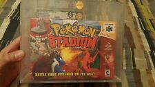 Pokemon Stadium (Nintendo 64, 2000) N64 New Factory Sealed Gold VGA 85+ NM+ RARE