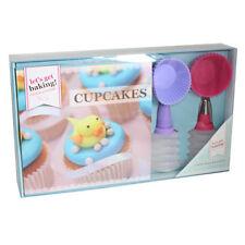 Permite conseguir Hornear Cupcake libro de recetas Conjunto de regalo botellas de Decoración & Moldes