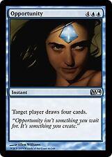 Opportunity  x4  EX/NM M14 Core Set MTG Magic Cards Blue Uncommon