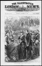 1879 Antique Print - DUKE DUCHESS of CONNAUGHT in BRIGHTON Sussex (119)