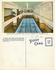 USA - Swimming pool - Ambassador Hotel - Washington D.C. -   (E-L 067)