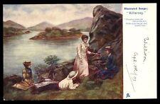 Illustrated songs Killarney No place else Tuck 1158 u/b PPC used 1903 Kerry