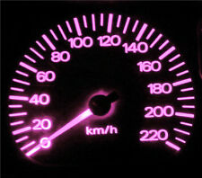 Pink LED Dash Gauge Light Kit - Suit Volvo S60 Series1 2001-2004