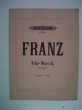vocal ROBERT FRANZ favourite songs, sopran-tenor, Peter