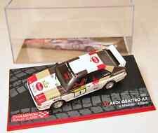 IXO1/43 METAL AUDI QUATTRO A2 1000 Lakes rallye 1983 Mikkola /Hertz !!!