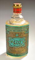 Retro No. 4711 Eau De Cologne ~ Blue & Gold Double ~ Sealed Bottle ~ Germany