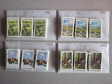Full Set Wildlife Habitats Issues # 1921 - 1924 x 100 Used US Stamps of Each