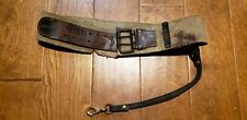 WW2 JAPANESE NAVY OFFICER'S BELT WITH SWORD HANGER COLLECTIBLE ANTIQUE MILITARY
