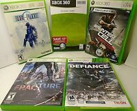 XBOX 360 GAMES Fracture/Defiance/Two Worlds/Splinter Cell Conviction/Lost Planet