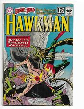BRAVE AND THE BOLD 42 - VG- 3.5 - HAWKMAN - HAWKGIRL (1962)