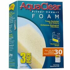 Aquaclear filter insert Foam (10-30 gal) 3 Pack