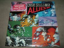 CROSBY STILLS NASH Allies ORIG SEALED NM New Viny LP Hype 1983 800 75-1 CutOut