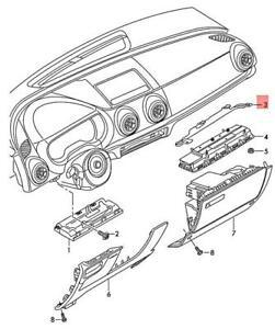 Genuine AUDI A3 Cabriolet S3 Sportback Lim. quattro. Sportb. Bracket 8V5880918