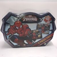 Ultimate Spider-Man 100 Piece Puzzle 2-Pack in Sealed Collectible Tin