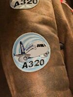 PATCH AIRBUS A320 CHUBBY PUDGY Bomber Jacket sew-on or iron-on large size A 320