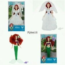 Disney Parks Princess Ariel Wedding and Disney Parks Ariel LIttle Mermaid Doll