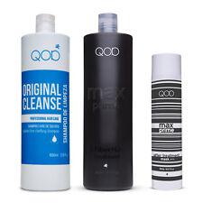 QOD MAX PRIME Brazilian Keratin Blow Dry Treatment, 250ml Formaldehyde Free