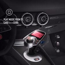 Bluetooth Inalámbrico Transmisor de FM Radio Kit MP3 Reproductor de música & 2