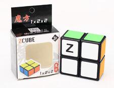 Z-Cube 1x2x2 Classic Magic Cube Entry Level Twist Puzzle Intelligence Toys Black