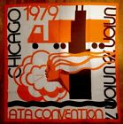 1979 Union 76 ATA Convention Tapestry Banner!Chicago, Cloth