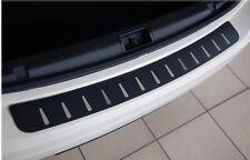 BMW X5 E53 1999-2006   Ladekantenschutz  Edelstahl mit Carbon Style