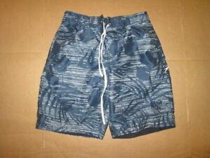 Mens SPEEDO swim trunks w/ built n mesh liner shorts swimsuit sz S Sm