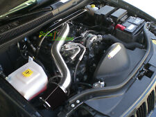 Black Air Intake Kit For 05-10 Jeep Grand Cherokee Commander 3.7 V6 *LONG*