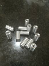 4 off M10 threaded spacers 10mm long by 16mm O.D. Aluminumor your sizes?