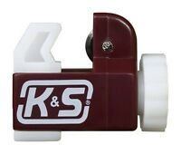 K&S Tubing Cutter Aluminum, Brass, Copper, Nylon Carded