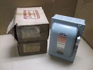 6X147 Dayton NEW In Box 3 Phase/480V 30A/600V Fusible Safety Switch