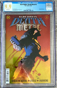 Dark Nights Death Metal #3 Capullo Cover CGC 9.9 DC Comics