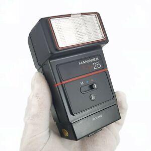 RARE VINTAGE HANIMEX TC1- 25 ELECTRONIC FLASH UNIT - WORKING