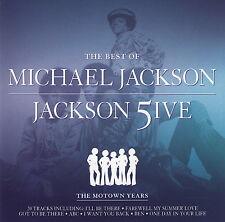 Michael Jackson CD The Best Of Michael Jackson & Jackson 5ive - England (M/EX)